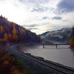 Towards #Røros.  #norway #railway Norway, My Photos, Mountains, Nature, Travel, Instagram, Voyage, Viajes, Traveling