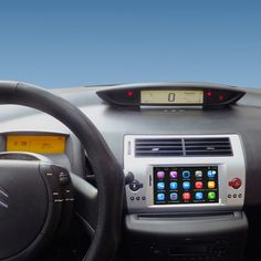 7 inch Android Car GPS Navigation for Citroen C4 C-Quatre C-Triomphe Car Radio Video Player Support WiFi