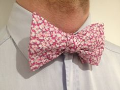 Noeud papillon Liberty Pepper Rose  Pink Pepper Liberty Bow Tie