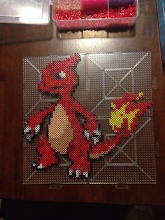 Charmeleon - Pokemon perler beads by jjhaddix