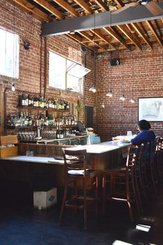 Boot & Shoe: Probably my favorite place to eat a meal in Oakland. Warm, inviting, cool and hip but accessibly so, lovely, cozy, sweet, but in interesting ways.