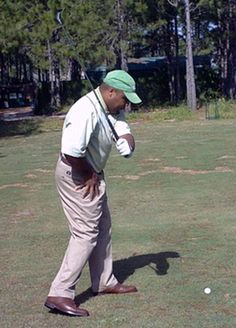 Use the Hitman Drill to Feel a Great Right Hip Turn in the Golf Swing: Picturing the Motion