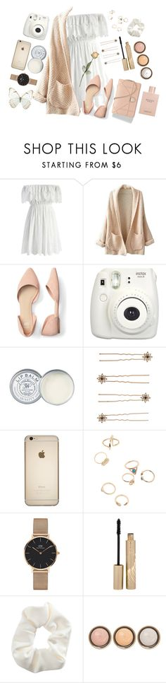 """""""#00023"""" by nglmfrryln ❤ liked on Polyvore featuring Chicwish, WithChic, Fujifilm, Jack Wills, Accessorize, Daniel Wellington, Stila, Topshop, By Terry and Gucci"""