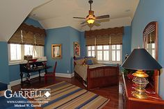 Garrell Associates, Inc.Hemingway House Plan # 05224 Kids Bedroom, Design by Michael W. Garrell