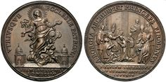 A Borgia, arciepiscopo and Prince of Fermo. Medal cast in bronze, with no author Cesare Borgia, Challenge Coins, Old Coins, St Francis, Woodcarving, Marie Antoinette, Buddha, Weird, San Francisco