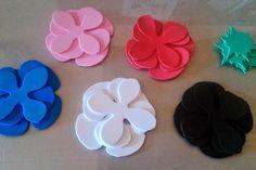 DIY Realiza flores con goma eva | Decorar tu casa es facilisimo.com