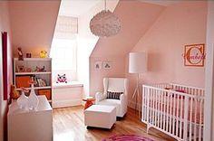 Nursery - peach, orange, pink