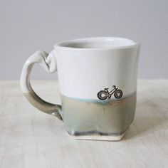 hand built slab mugs ~ slab built mugs + slab built mugs template + slab built mugs handmade + slab built mugs design + slab built ceramic mugs + slab built pottery mugs + slab built coffee mugs + hand built slab mugs Pottery Mugs, Ceramic Pottery, Slab Pottery, Tea Mugs, Coffee Mugs, Bike Coffee, Coffee Dripper, Small Gifts, Great Gifts