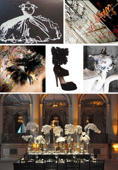 Black Swan Inspiration (2 of 4) by Michelle @ Pocketful of Dreams Fashion Show Themes, Looks Dark, Black Swan, Inspiration Boards, Swans, Dark Colors, Event Design, Mood Boards, Party Themes