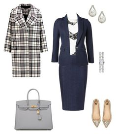 """""""#427"""" by snows22 on Polyvore featuring moda, DKNY, Zara, River Island, Hermès, New Directions e Carven"""