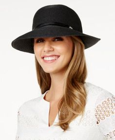 f84f79f3145e7 Nine West Packable Sun Hat   Reviews - Handbags   Accessories - Macy s