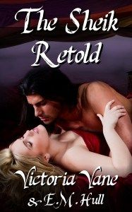 VICTORIA VANE~ CHECK OUT THE NEW COVER.....THE SHEIK RETOLD...WITH GIVEAWAY
