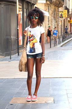 SummerOfStreetStyle par @Videdressing.com !  Vanessa, rue Ste Catherine