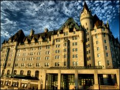 Beautiful shot of the #ChateauLaurier, #Ottawa. Another #Canadian landmark.