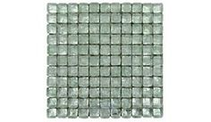 Illusion Glass Tile - 1 inch x 1 inch Glass Mosaic Tile in On the Rox - ( 530-479 )