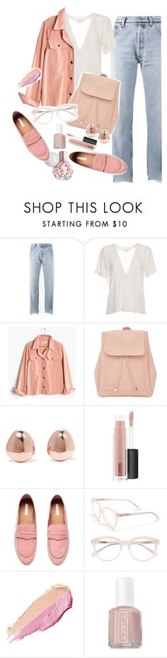 """Google Search"" by chelsofly on Polyvore featuring Vetements, IRO, Madewell, New Look, Monica Vinader, MAC Cosmetics, H&M, Derek Lam, By Terry and Essie"