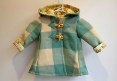 Flossy's coats - upcycled vintage wool blanket coats