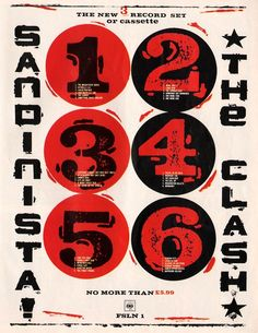 The Clash Band, Rock Band Posters, The Future Is Unwritten, Mick Jones, British Punk, Music Flyer, Thing 1, Concert Posters, Music Posters