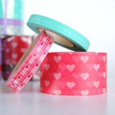 Valentine's Heart Washi Tape