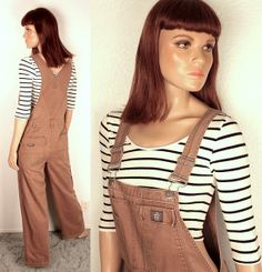 90s CK jeans overalls // wide legs by BexVintage on Etsy, $36.00