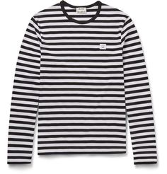 Slim-Fit Striped Cotton-Jersey T-Shirt | MR PORTER160.00