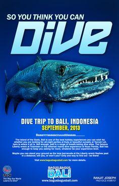 Poster design Dive Trip Promotion Work done: Concept & Execution Softwares; Adobe Photoshop, Adobe Illustrator