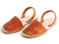 NARANJA ABARCAS MENORQUINAS « Verano Shoes - Sandals