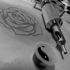 Training Tattoo - Rose