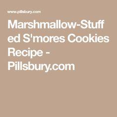 Marshmallow-Stuffed S'mores Cookies Recipe - Pillsbury.com