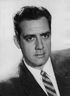 Raymond William Stacey Burr - b. May 21, 1917 in New Westminster, British Columbia, Canada.  He  was a Canadian actor, primarily known for his title roles in the television dramas Perry Mason and Ironside.  He died from cancer on Sept 12,1993.