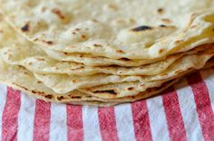 Healthy Homemade Tortillas!  I think I need to try these!