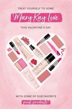 We heart you, beauties! Share the love on Valentine's Day by gifting yourself or someone else our favourite pink products! | Mary Kay