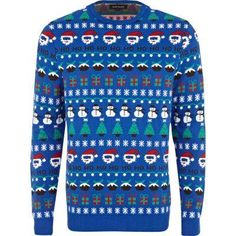 How could you not be happy wearing this Christmas sweater ...