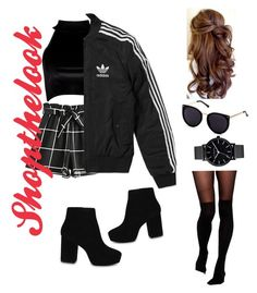 Shop The Look! by chrysanthemum-san on Polyvore featuring polyvore, fashion, style, Boohoo, adidas, ASOS, ALDO and clothing