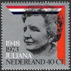 Koningin Juliana 25 jaar op de troon