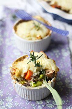Vegetable Lentil Shepherd's Pie