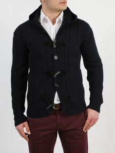 SAD - Ζακέτα με κουκούλα Men Sweater, Sweaters, Jackets, Style, Fashion, Down Jackets, Swag, Moda, Fashion Styles