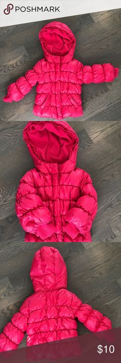 Baby GAP winter coat Perfect coat for the winter. Warm, GUC and fun color. GAP Jackets & Coats Puffers