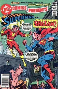 DC Comics Presents (1978 DC) 33 gjfjgepihrpignjepo HIS NAME IS CAPTAIN MARVEL!!!! >:(