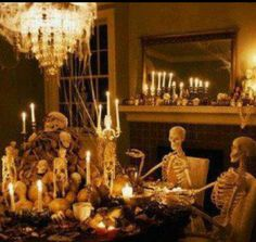 halloween decorating ideas for living room with skull and candle photo halloween decorating ideas for living room wallpaper holiday picture
