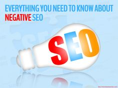 Everything You Need to Know About Negative SEO http://michelleshummel.com/everything-need-know-negative-seo/