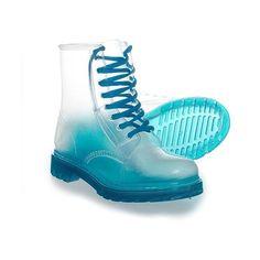 2b4baf4ce30 Blue Banana Clear Boot (Blue)  Amazon.co.uk  Shoes  amp