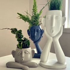 Spice Things Up, Things To Come, Sculptures Céramiques, Arte Floral, Triplets, Clay Art, Ceramic Art, Modern Interior, House Plants