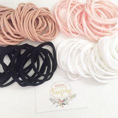 WHOLESALE lot of nylon comfy elastics by AnzanasTreasures on Etsy  nylon headbands