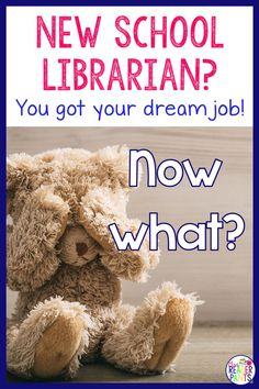 You've landed a new school librarian job–congratulations! School librarianship is awesome, but it can also be hectic, especially during back to school. Here's some help with where to start. Source by mrsreaderpants ideas for school School Library Lessons, School Library Displays, Library Lesson Plans, Middle School Libraries, Elementary School Library, Library Skills, Primary School, Elementary Schools, School Classroom