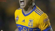 Eduardo Vargas anota un golazo en victoria de Tigres sobre Lobos en México