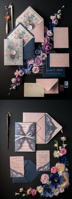 $7.00 Vintage wedding invitations perfect for any wedding style! #burgundy #gold #fallweddings #weddings #weddinginvitation