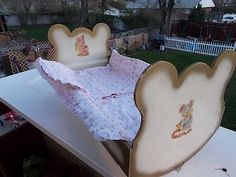 Doll Cradle Vintage 25 In Long Sweet/ Not by Daysgonebytreasures