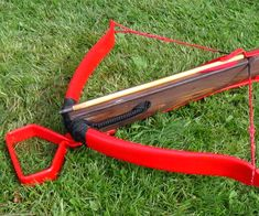 Hey everyone! Today we're going to be building a 100 pound medieval style crossbow with a PVC prod. While I use more expensive furniture grade PVC, this bow c . Homemade Crossbow, Diy Crossbow, Crossbow Arrows, Homemade Weapons, Crossbow Hunting, Hunting Gear, Camping Survival, Outdoor Survival, Survival Prepping