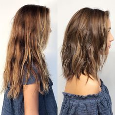 before & after - Beachy weave finish shoulder Length Hair!You can find Hair lengths and more on our website.before & after - Beachy weave finish shoulder Length Hair! Haircuts For Fine Hair, Haircut For Thick Hair, Hairstyles Haircuts, Layered Hairstyles, Thick Hair Hairstyles Medium, Shoulder Length Hairstyles, Below Shoulder Length Hair, Long To Short Haircut, Hair Cuts Thick Hair